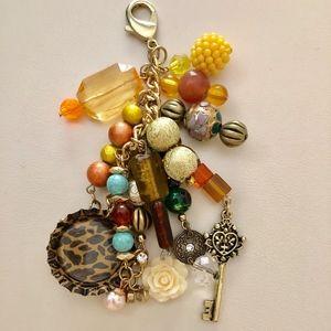 One Beautiful Handmade Gold Charm